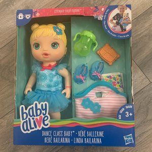 NEW BABY ALIVE DANCE CLASS BABY W/ACCESSORIES